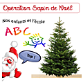Opération Sapin de Noël 2020