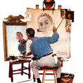 Hommage à norman rockwell (1894-1978)
