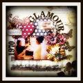 Page : glamour (dt des mots en scrap et la scraposphere )