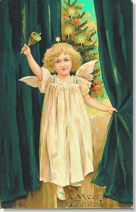 Petit ange pour un Noël vert