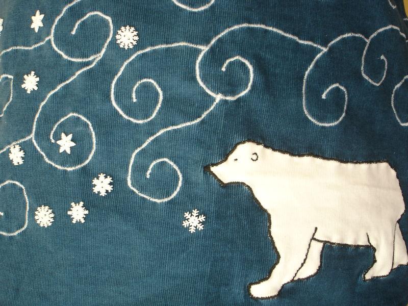 jupe hiver détail