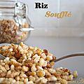 Riz soufflé maison de sweet food