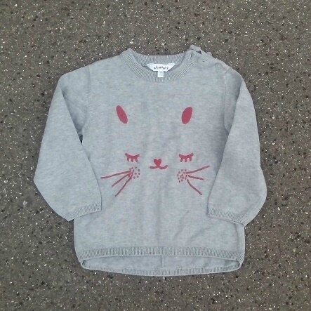 *Pull lapin, 3 ans