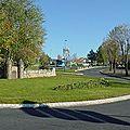 Rond-point à <b>Onet</b> le Château