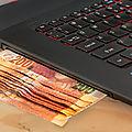 Geld lening aanbieding en online Investment mededeling