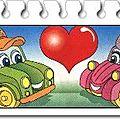 K03-62 et k03-63 voitures lulu et bobby série complète