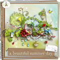 A beautiful summer day de lady papillon @digital-crea