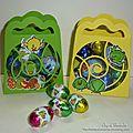 Petites boîtes de Pâques