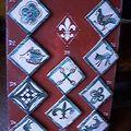 cabochons 10x10 Palais des Papes d'Avignon