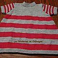 Petite robe tricotée