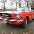 Ford mustang cab 1965 orange 01