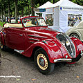 Peugeot 302 cabriolet de 1937 (9ème Classic Gala de Schwetzingen 2011) 01