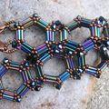 Bracelet hexagones