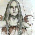 Portrait d'une fée diablée