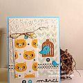Défi passion cartes créatives : miaou ! ...
