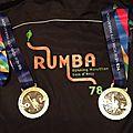 2 médailles pour la Rumba!