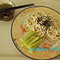 Teuchi udon noodles