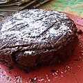 Gateau au chocolat au micro-ondes