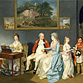 Zoffany - Colonel <b>Blair</b> and Family
