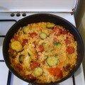 Riz au chorizo sluurp et ses ptit légumes