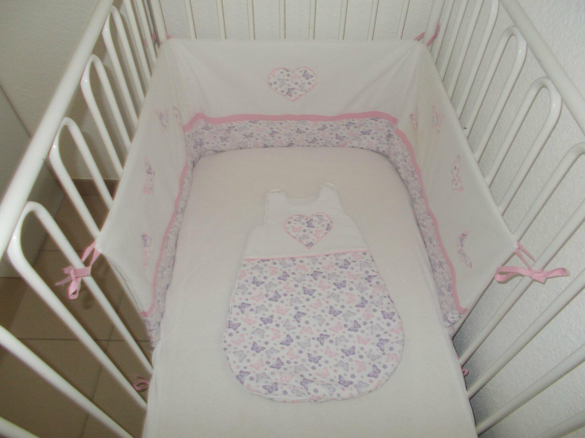 La chambre de bébé # 4- Le tour de lit ! #