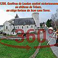 En 1206, Geoffroy de <b>Loudun</b> soutint victorieusement au château de Trèves, un siège furieux de Jean sans Terre.