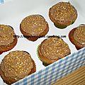 Cupcakes pralinés !