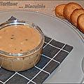 Pâte à tartiner biscuitée