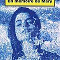 Parsons julie / en mémoire de mary.