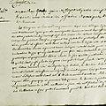 Le 4 juin 1790 à Mamers : contribution <b>patriotique</b>.