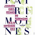 Journees du patrimoine 2012