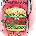 La légende du burger vengeur.