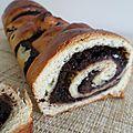 Brioche au chocolat & crème d'amandes