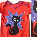 chemise de nuit chat