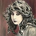 Portraits d'actrices du <b>cinéma</b> <b>muet</b>