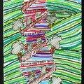 Colin Hundertwasser et paysage enfant