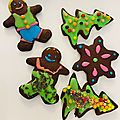 <b>Biscuits</b> de nôel au chocolat