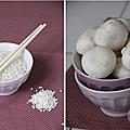 Risotto crémeux aux champignons & parmesan