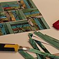 Portes ouvertes à l'atelier cadrat : vendredi 27 mars / mosaïques de photos...