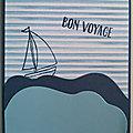 Petite carte Bon voyage
