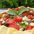 Tarte de légumes à la grecque