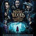 Into the woods de <b>Rob</b> <b>Marshall</b> avec Meryl Streep, Anna Kendrick, Emily Blunt, James Corden, Chris Pine, Johnny Depp