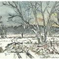 b19 Longeville moselle sous la neige