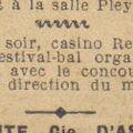 Dimanche 9 juillet 1933