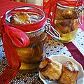 Mini caneles au sirop de rhum - cadeaux gourmands pour noel