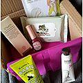 Box fleurs du japon octobre 2015 [unboxing et impressions] + mini haul.
