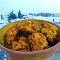 Cookies salés au chorizo et tomates confites pour l'apéritif