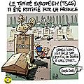 Le traité européen ratifié