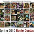 Concours bento spécial printemps - le retour !