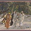 Évangile et Homélie du Mercredi 15 Avril 2020. Jésus sur le chemin des deux <b>disciples</b> d'Emmaüs
